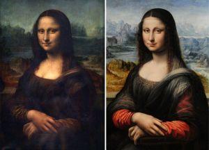 Mona lisa - Original e Cópia