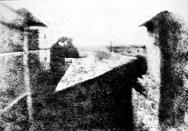 Niépce, first photo world